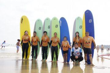cours et stage de surf à Hendaye